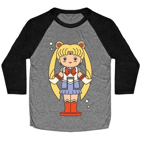 Sailor Moon Pocket Parody Baseball Tee