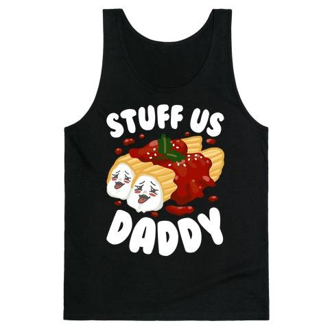 Stuff Us Daddy Manicotti Tank Top