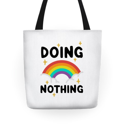 Doing Nothing Tote