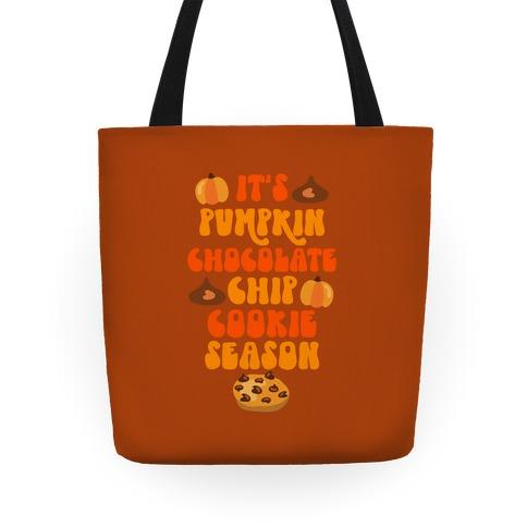 It's Pumpkin Chocolate Chip Cookie Season Tote