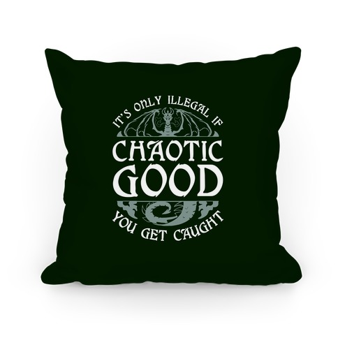 Chaotic Good Pillow
