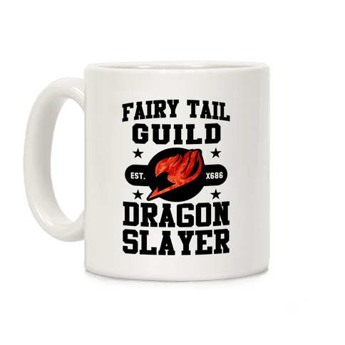 Fairy Tail Guild Dragon Slayer Coffee Mug