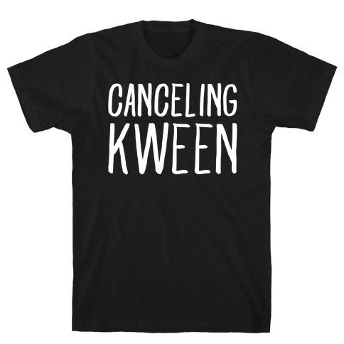 Canceling Kween White Print T-Shirt