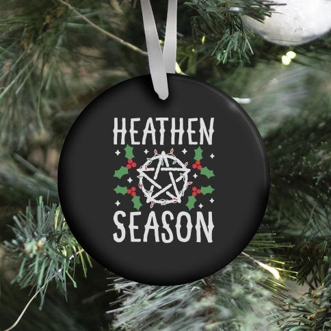 Heathen Season Christmas Ornament