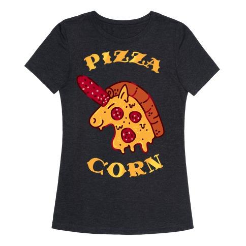 Pizzacorn Womens T-Shirt