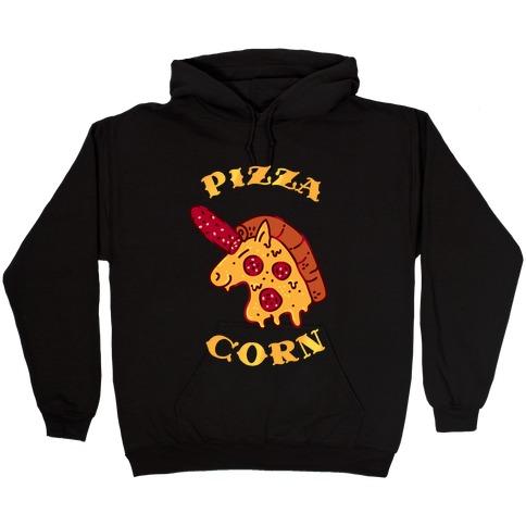 Pizzacorn Hooded Sweatshirt