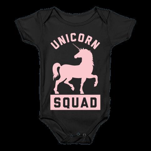 Unicorn Squad Baby Onesy