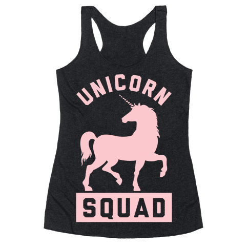 Unicorn Squad Racerback Tank Top