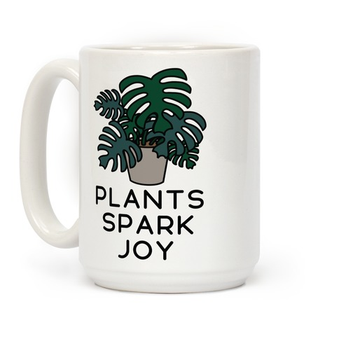 Plants Spark Joy Coffee Mug