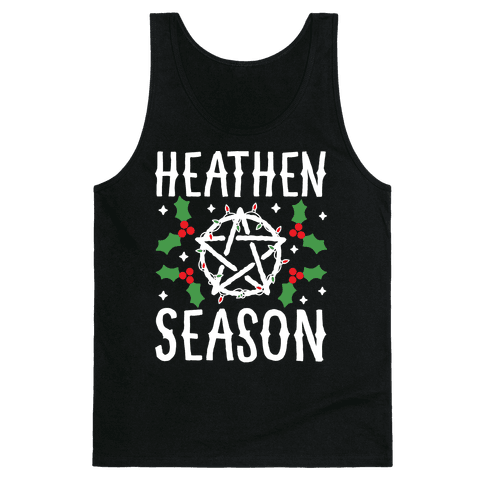 Heathen Season Christmas Tank Top