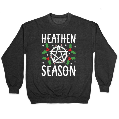 Heathen Season Christmas Pullover
