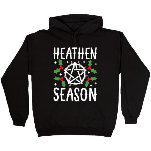 Heathen Season Christmas Hooded Sweatshirt