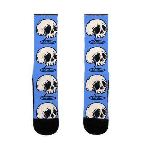 Sensitive Skull Sock