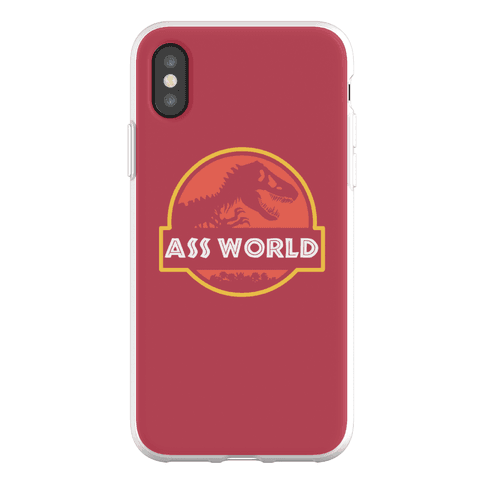 Ass world Phone Flexi-Case