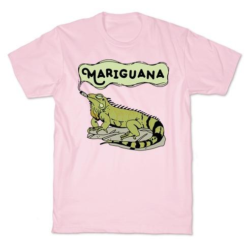 Mariguana Marijuana Iguana T-Shirt