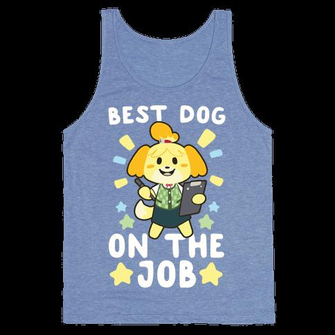 Best Dog on the Job Tank Top