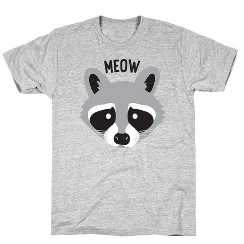 Meow Raccoon T-Shirt