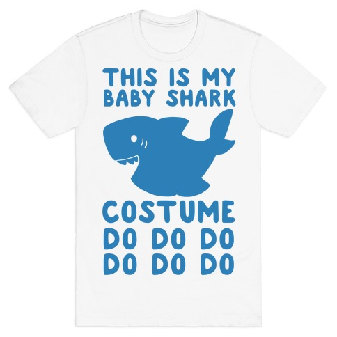 This is My Baby Shark Costume Do Do Do Do T-Shirt