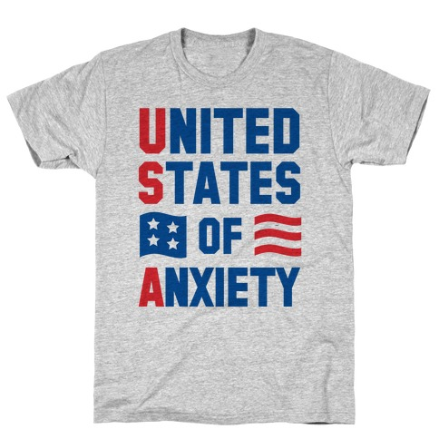 United States of Anxiety T-Shirt