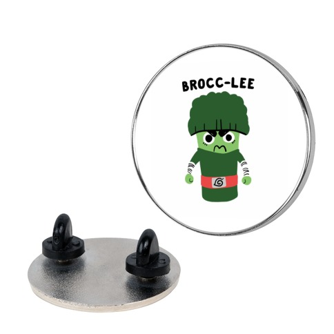 Brocc-Lee - Rock Lee pin