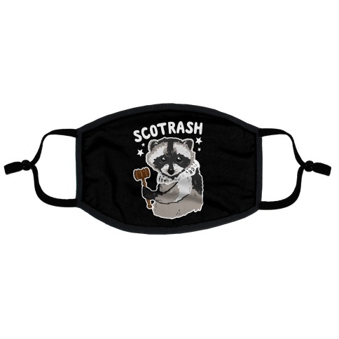 SCOTRASH Flat Face Mask