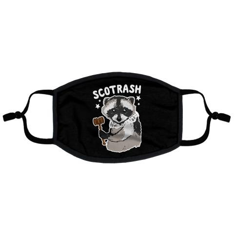 SCOTRASH Flat Face Mask