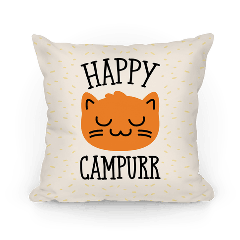 Happy Campurr Pillow