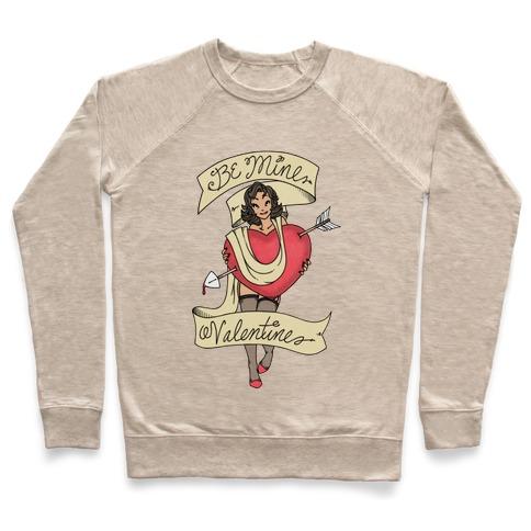 Be Mine Valentine Tattoo Pullover