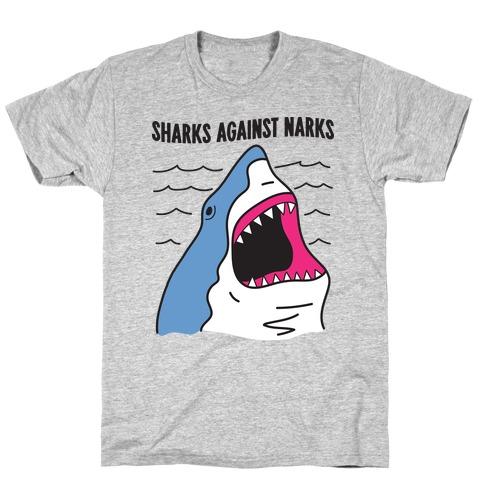 Sharks Against Narcs T-Shirt