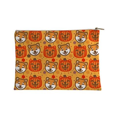 Shiba Inu Pumpkins Accessory Bag