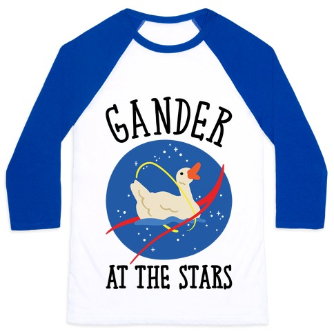 Gander At The Stars Baseball Tee