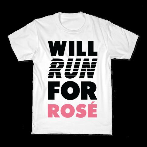 Will Run For Ros Kids T-Shirt