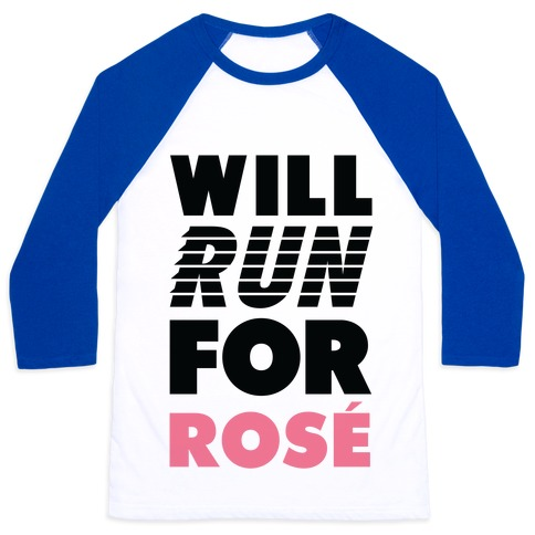 Will Run For Ros Baseball Tee