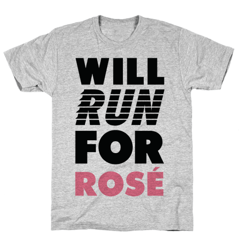 Will Run For Ros Mens/Unisex T-Shirt