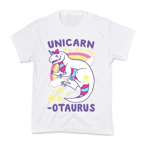 Unicarnotaurus - Unicorn Carnotaurus Kids T-Shirt