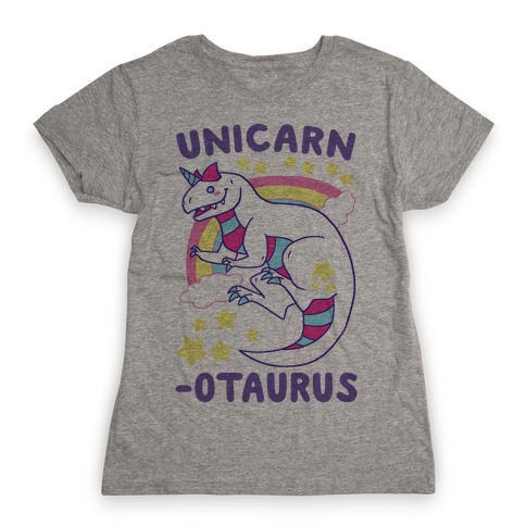 Unicarnotaurus - Unicorn Carnotaurus Womens T-Shirt
