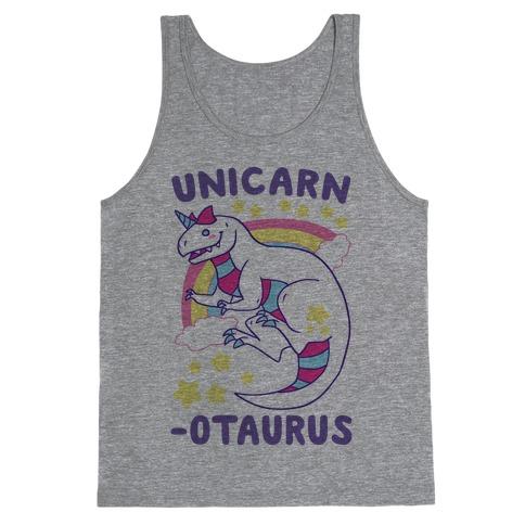Unicarnotaurus - Unicorn Carnotaurus Tank Top