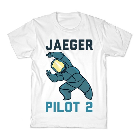Jaeger Pilot 2 (1 of 2 set) Kids T-Shirt
