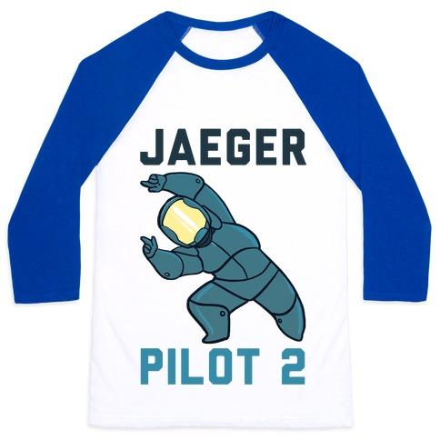 Jaeger Pilot 2 (1 of 2 set) Baseball Tee