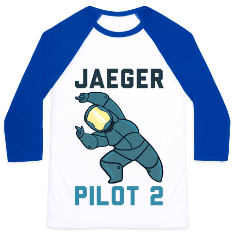 Jaeger Pilot 2 (1 of 2 set) Baseball Tee