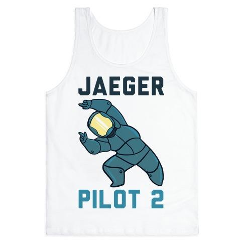 Jaeger Pilot 2 (1 of 2 set) Tank Top