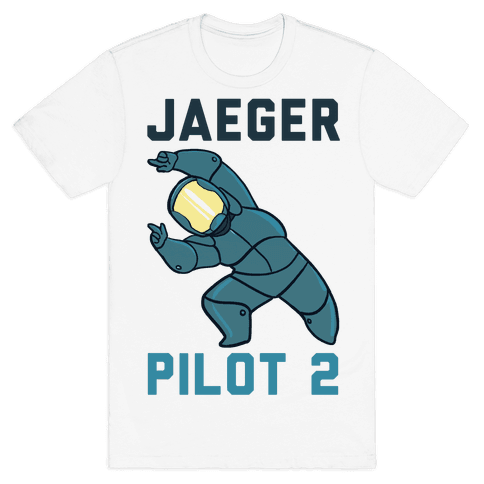 Jaeger Pilot 2 (1 of 2 set) Mens T-Shirt