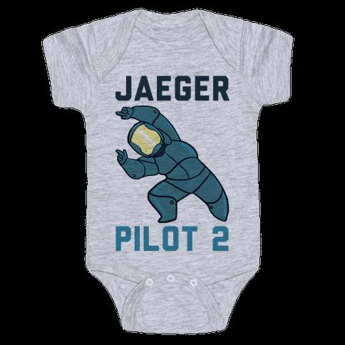 Jaeger Pilot 2 (1 of 2 set) Baby Onesy