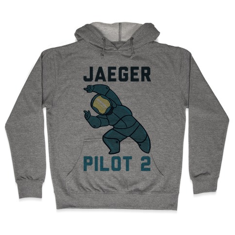 Jaeger Pilot 2 (1 of 2 set) Hooded Sweatshirt