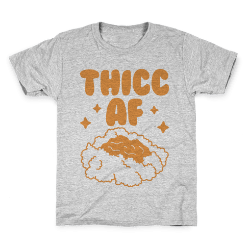 Thicc AF Mashed Potatoes Kids T-Shirt