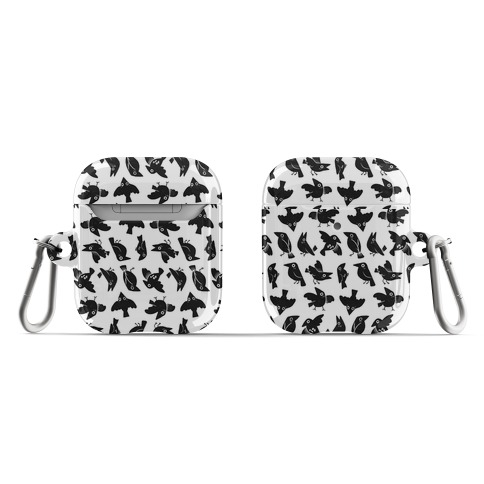 Cute Crow Pattern AirPod Case