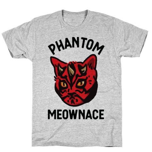 The Phantom Meownace T-Shirt
