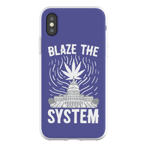 Blaze The System Phone Flexi-Case
