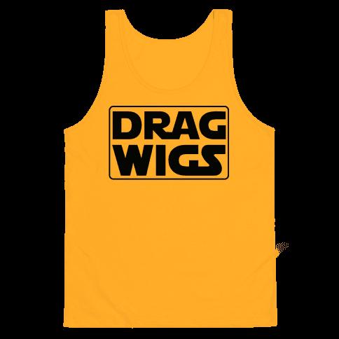 Drag Wigs Tank Top