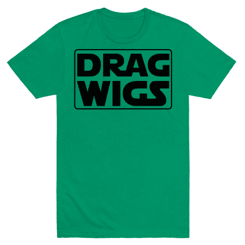 Drag Wigs Mens T-Shirt